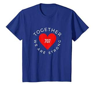 Together we are Strong 707 Sonoma Proud Sonoma Strong Tshirt