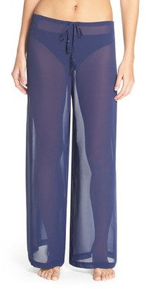 Women's Tommy Bahama Chiffon Cover-Up Pants $88 thestylecure.com