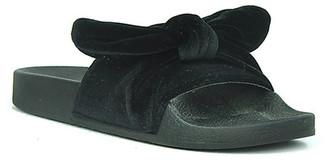 Refresh Sandy Bow Tie Slide Sandal $29.99 thestylecure.com