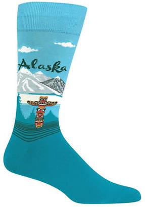 Hot Sox Alaska Crew Socks
