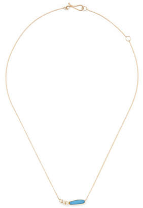 Melissa Joy Manning 14-karat Gold, Pearl And Opal Necklace - one size
