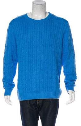Gant Cable Knit Crew Neck Sweater