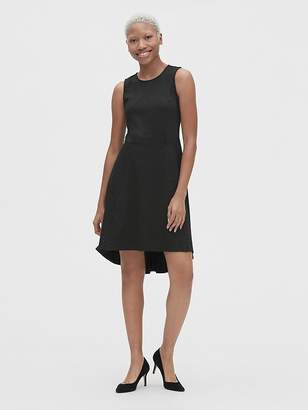 Gap Fit and Flare Sleeveless Hi-Lo Dress