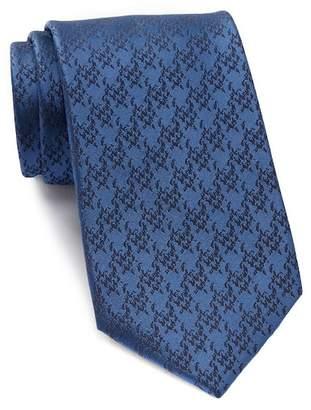 Calvin Klein Macro Houndstooth Silk Tie
