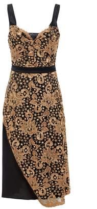 Sarvin - Hope Guipure & Mesh Detail Dress