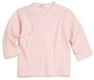 Kissy Kissy Baby Girl's Pink-Striped Wrap Top