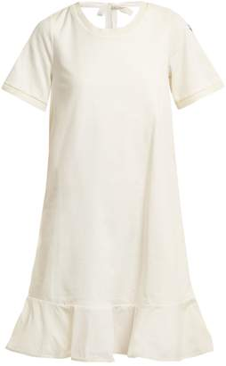Moncler Round-neck cotton-jersey dress