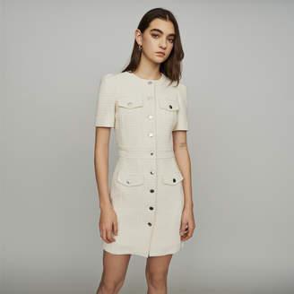 Maje Tweed style straight dress
