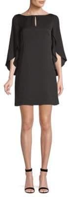 Milly Papillon Silk-Blend Dress