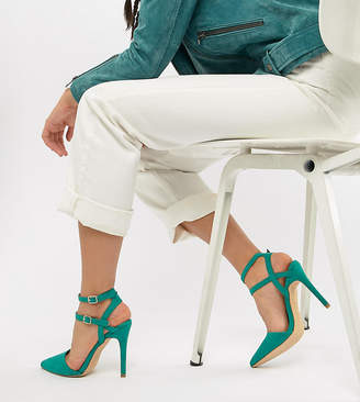 New Look Wide Fit Strappy Stiletto