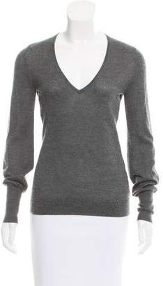 Derek Lam Long Sleeve V-Neck Sweater
