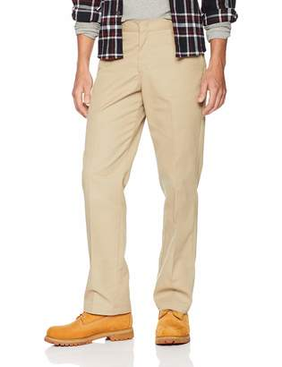 Dickies Men's Young Adult Sized Flat Front Pant
