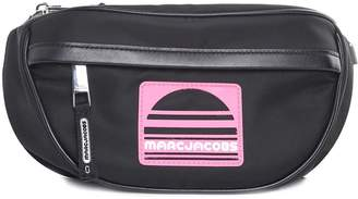 Marc Jacobs Sport Leather And Nylon Fanny Pack