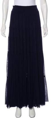 Jean Paul Gaultier Soleil Ruffled Maxi Skirt w/ Tags