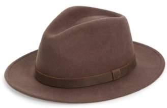 Brixton Messer II Felted Wool Fedora