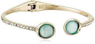 Kenneth Cole Pave Hinged Cuff Bracelet