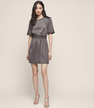 Reiss Myla Short-Sleeved Mini Dress