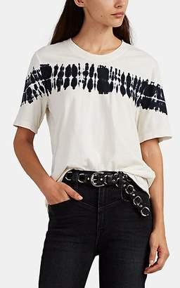 Raquel Allegra Women's Tie-Dyed Silk Boyfriend T-Shirt
