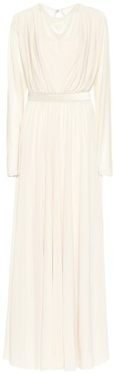 Max Mara Trani crepe gown