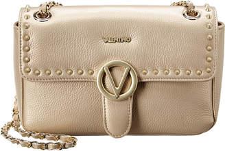 Mario Valentino Valentino By Antoinette Preciosa Dollaro Leather Shoulder Bag