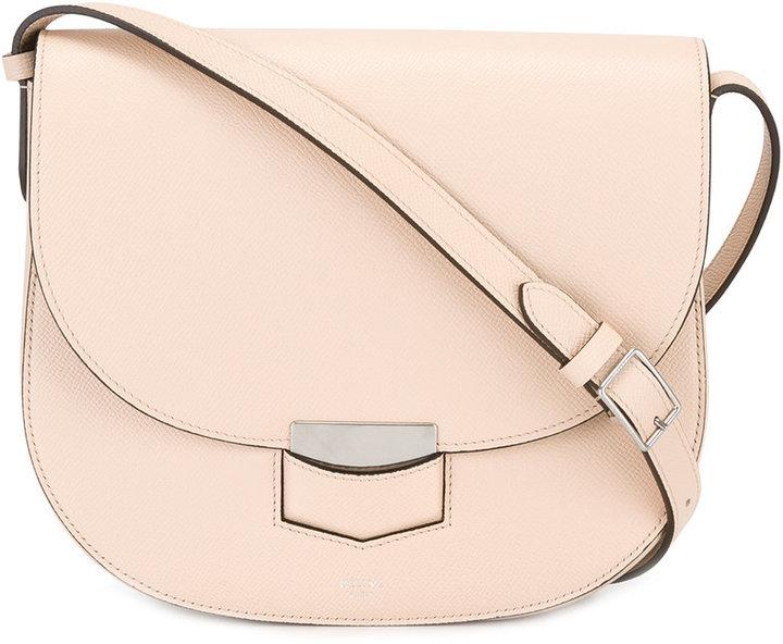 CelineCéline textured shoulder bag