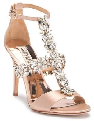 Badgley Mischka Munroe Embellished Stiletto Heel Sandal