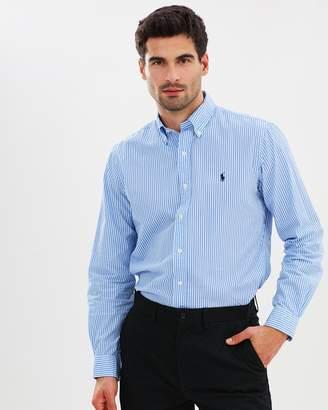 Polo Ralph Lauren Classic Fit Cotton-Blend Shirt