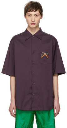 Prada Purple Stripe Shirt