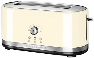 KitchenAid KITCHEN AID Cream 'Traditional' 4 Slice Toaster 5Kmt4116bac