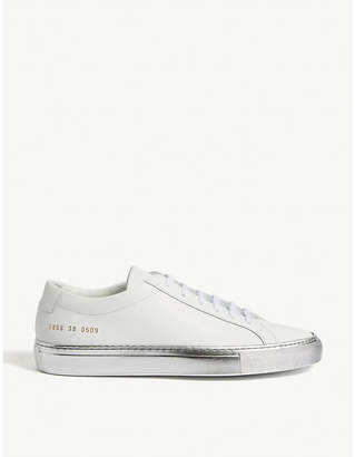 Common Projects Achilles leather low-top trainers