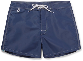 Sundek Rainbow Short-Length Swim Shorts $130 thestylecure.com