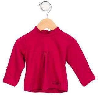 Catimini Infant Girls' Long Sleeve Mock Neck Top w/ Tags