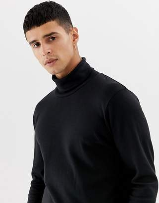 Selected roll neck long sleeve top