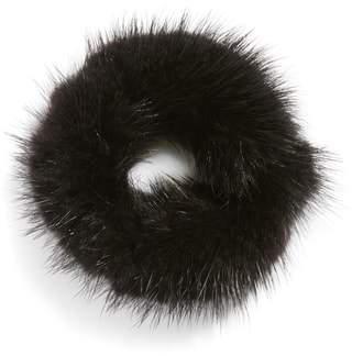 Jocelyn Genuine Mink Fur Hair Elastic