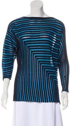 Issey Miyake Wool-Blend Knit Sweater