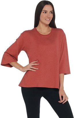 Logo By Lori Goldstein LOGO by Lori Goldstein Washed French Terry Oversized Top