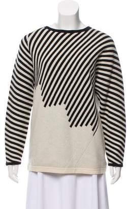 Shamask Cashmere Striped Sweater