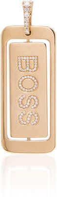 Diane Kordas 18K Boss Lady Diamond Pendant