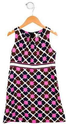 Milly Minis Girls' Linen-Blend Dress