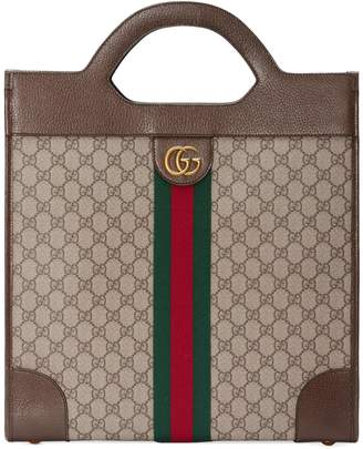 892b95d83c7 Gucci Ophidia GG medium top handle tote