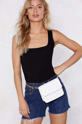Nasty Gal WANT Let's Call It Quilts Belt Bag