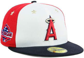 New Era Boys' Los Angeles Angels Mlb All Star Game Patch 59FIFTY Fitted Cap 2018