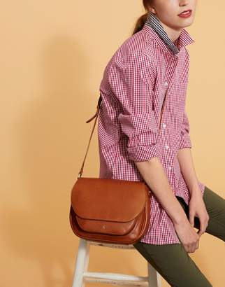 Joules Clothing Chestnut Darby Leather Saddle Bag