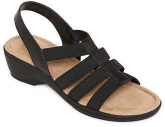 5c3727d6b324 ST. JOHN S BAY Womens Innis Wedge Sandals