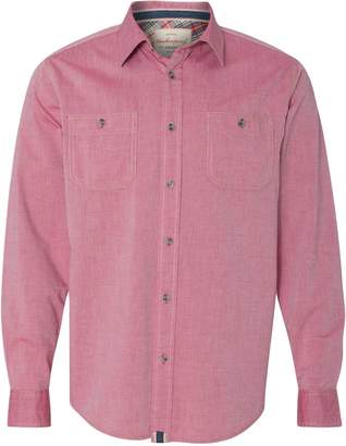 Weatherproof Vintage Chambray Long Sleeve Shirt 154885 M