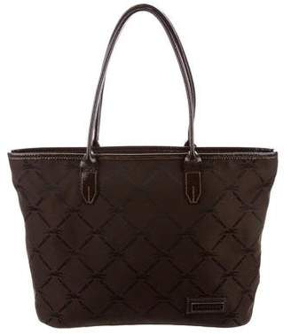 Longchamp Patent Leather Trim Tote