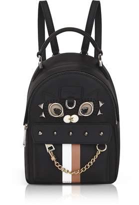 Furla Black Favola Mini Backpack w/Studs