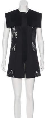 Robert Rodriguez Structured Printed Mini Dress