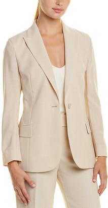 Akris Silk-Lined Wool Jacket