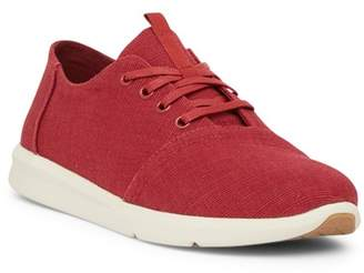 Toms Del Rey Henna Red Canvas Sneaker